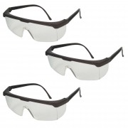 3 Uni Óculos Proteção Rj Jaguar Proteção Total Olhos Kalipso - CA10.346