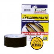 FITA DE PISO ABRASIVA  ANTIDERRAPANTE - 48mm X 5 Mts PRETO