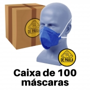 Kit de 100 unidades de Mascara Descartável Pff2 Pro Agro sem válvula - Delta Plus