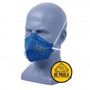 MASCARA RESPIRATÓRIA PFF2 COM VALVULA MASKFACE  AIR SAFETY