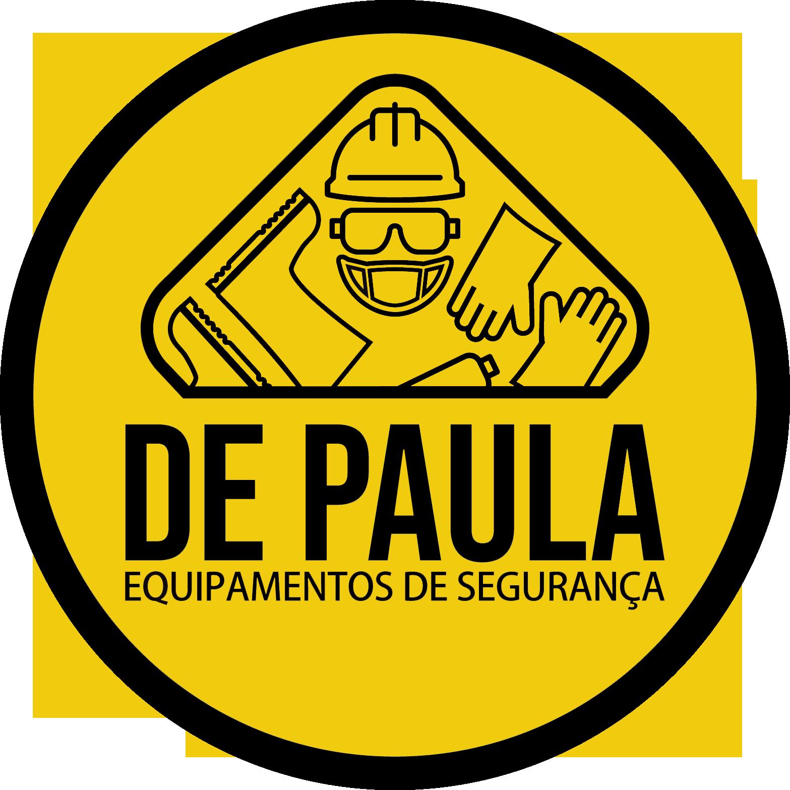 BOTINA DE SEGURANÇA DE AMARRAR BICO DE PVC PRETA - CA:40677  - DE PAULA EPI