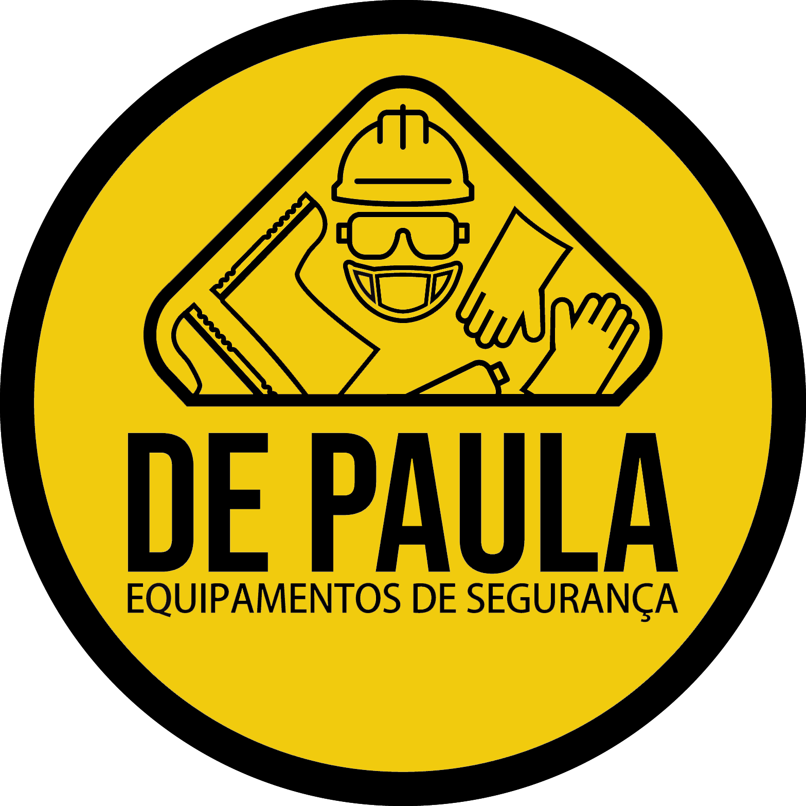 BOTINA DE SEGURANÇA DE AMARRAR BICO DE AÇO PRETA -  ECOSAFETY PRIMAVERA CA8796  - DE PAULA EPI
