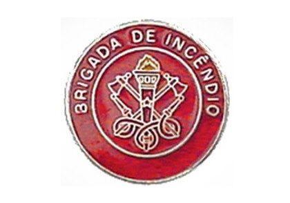 BROCHE BRIGADA DE INCENDIO 20MM  - DE PAULA EPI