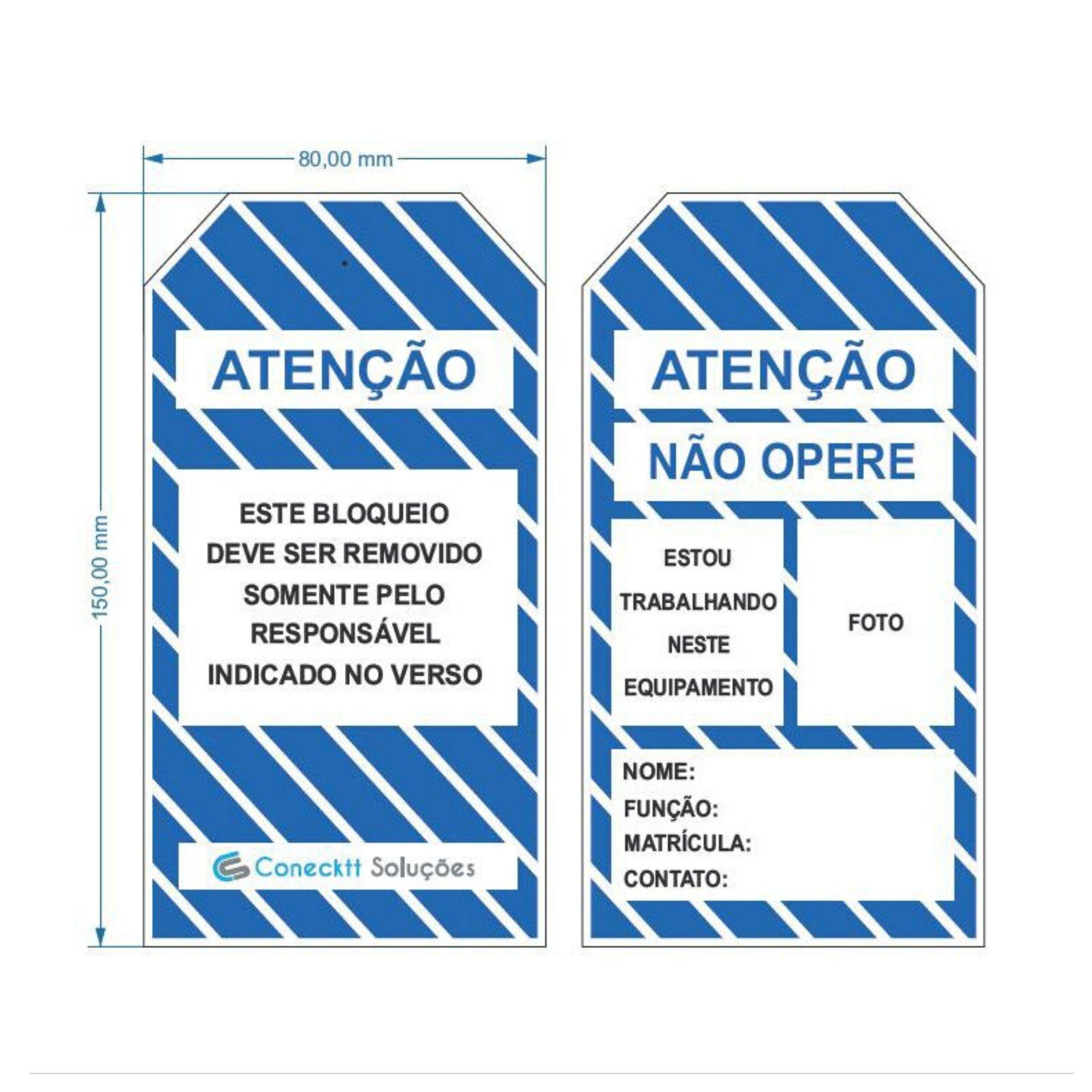 CARTÃO DE IDENTIFICAÇÃO - NÃO OPERE  - DE PAULA EPI