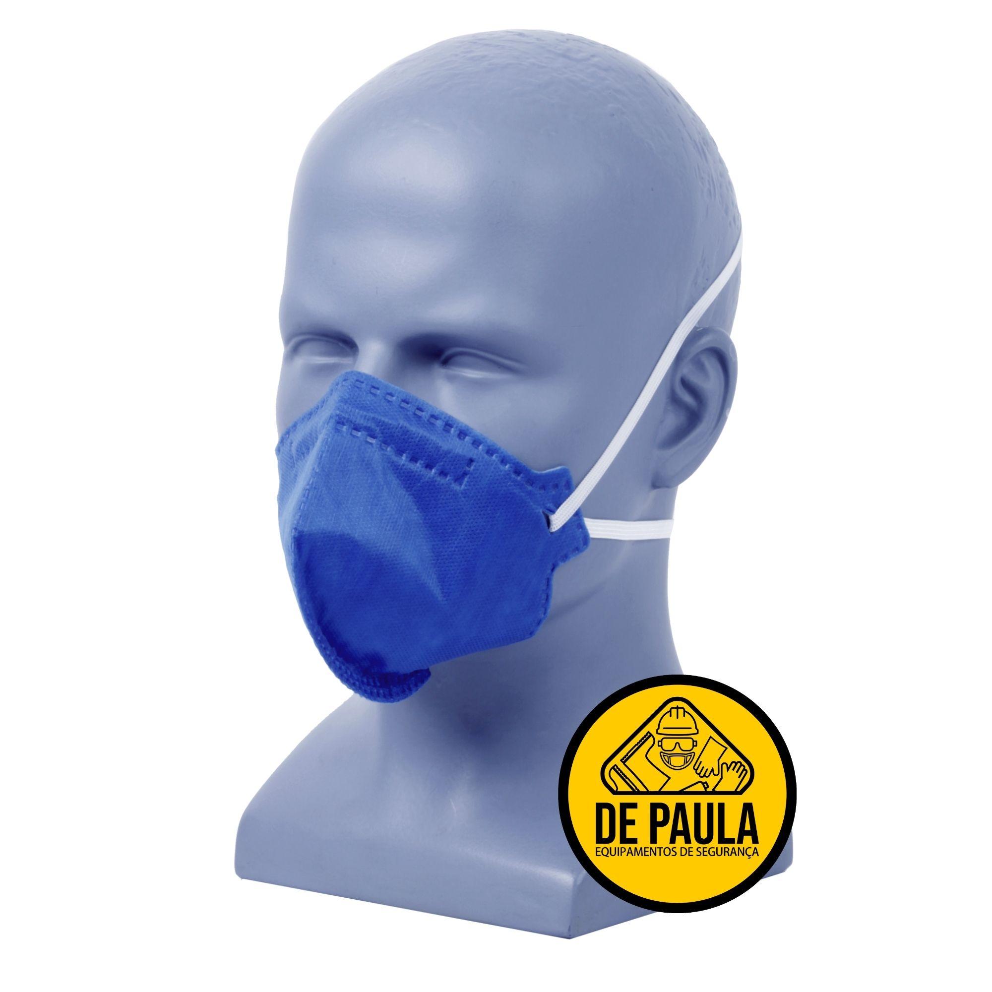 Kit de 100 unidades de Mascara Descartável Pff2 Pro Agro sem válvula - Delta Plus  - DE PAULA EPI
