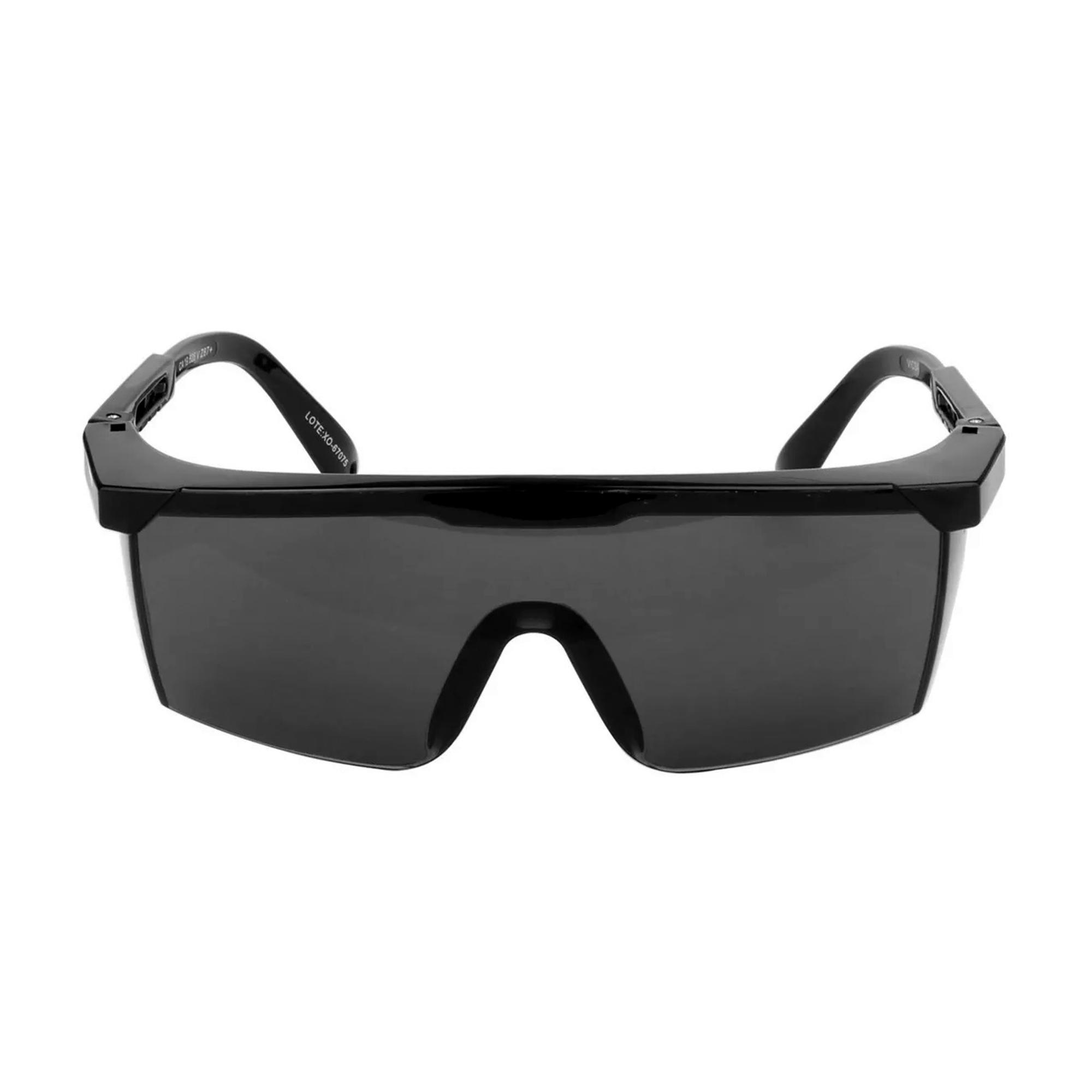 Kit De 3 Peças De Oculos Seguranca Nitro -- Rj Vicsa Cinza