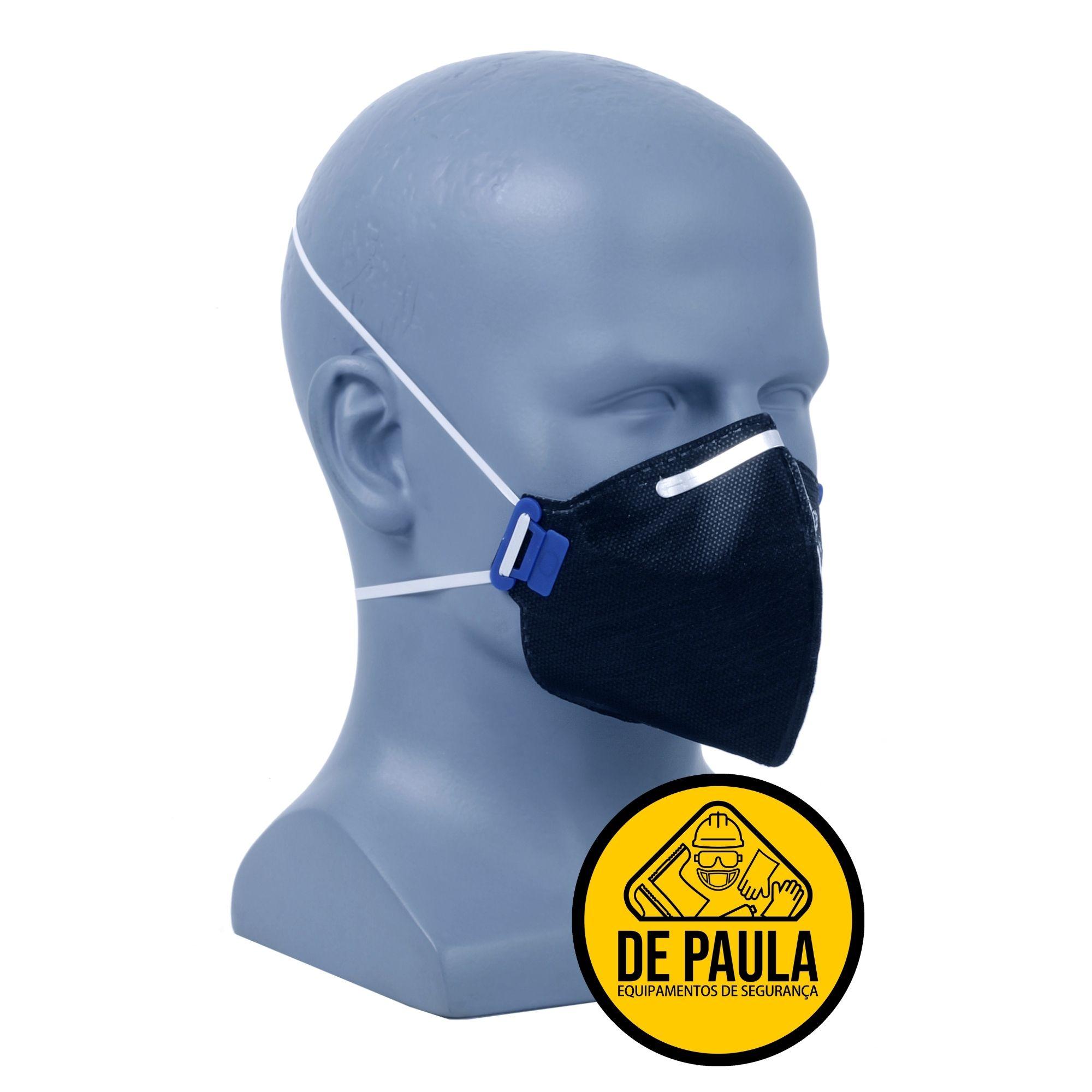 Kit de proteção saúde 2x PFF2 s/ valv, protetor pele, oculos  - DE PAULA EPI