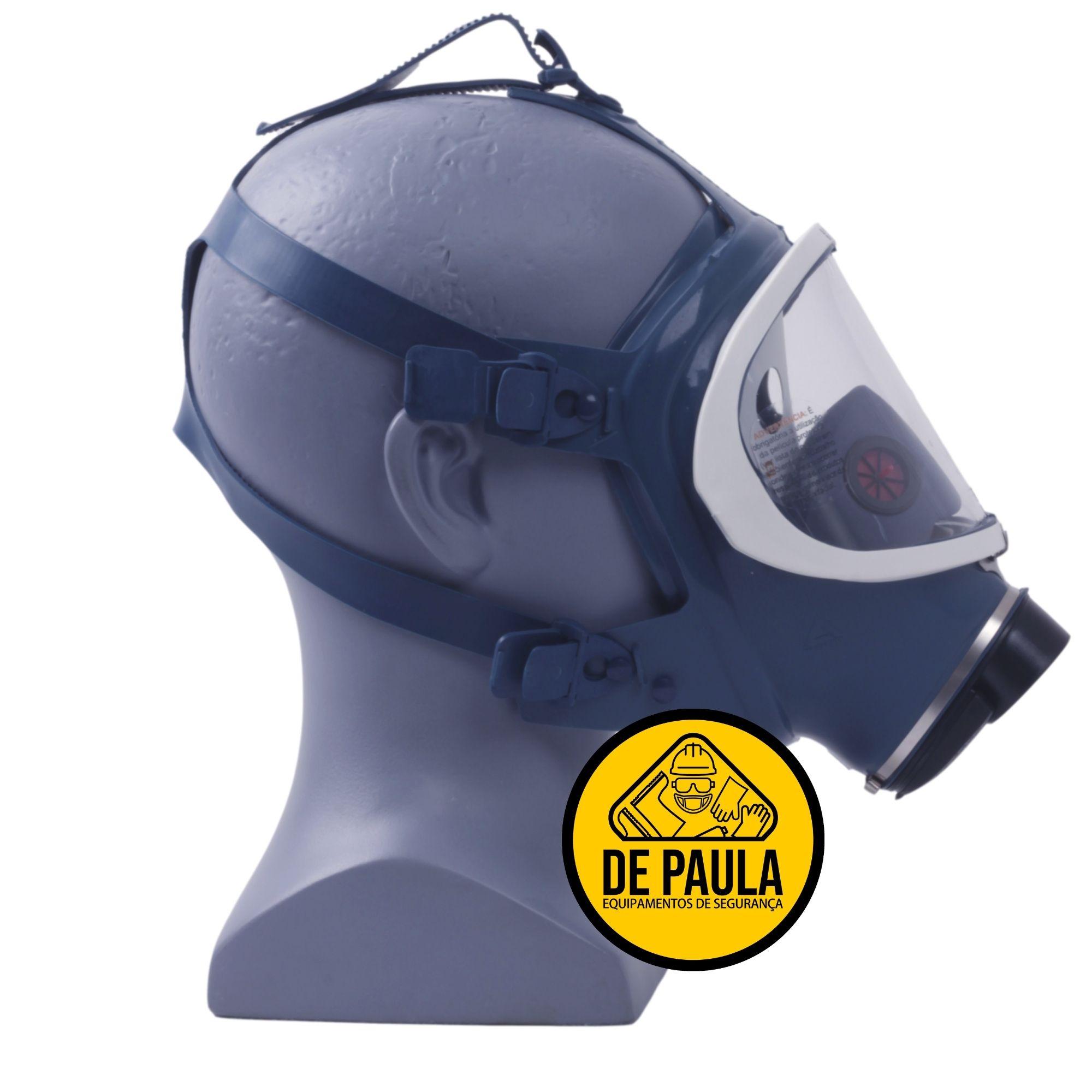 MÁSCARA PANORAMICA FULL FACE - AIR SAFETY - CA Nº 5758