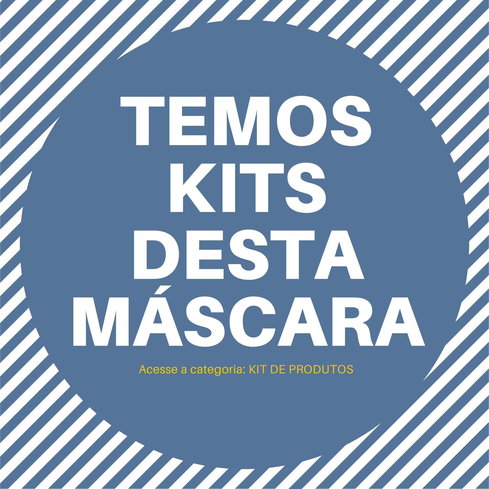 MASCARA TNT TRIPLA DESCARTAVEL REVIVE--- PACOTE 5 UN  - DE PAULA EPI