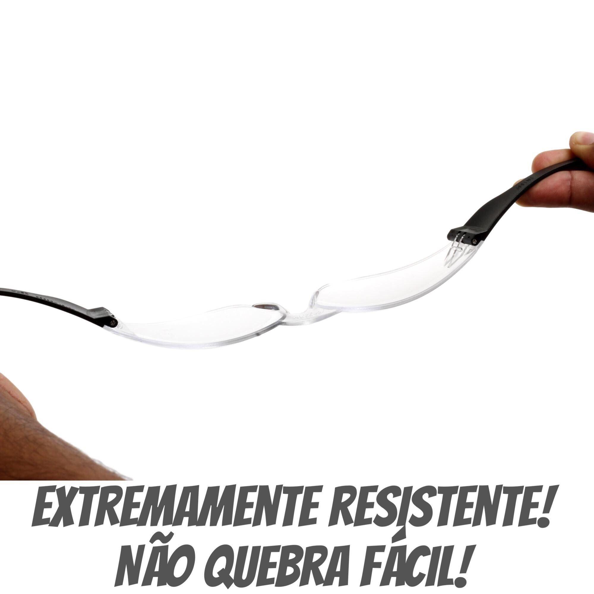 OCULOS DE PROTEÇÃO ECOLINE INCOLOR LIBUS  - DE PAULA EPI