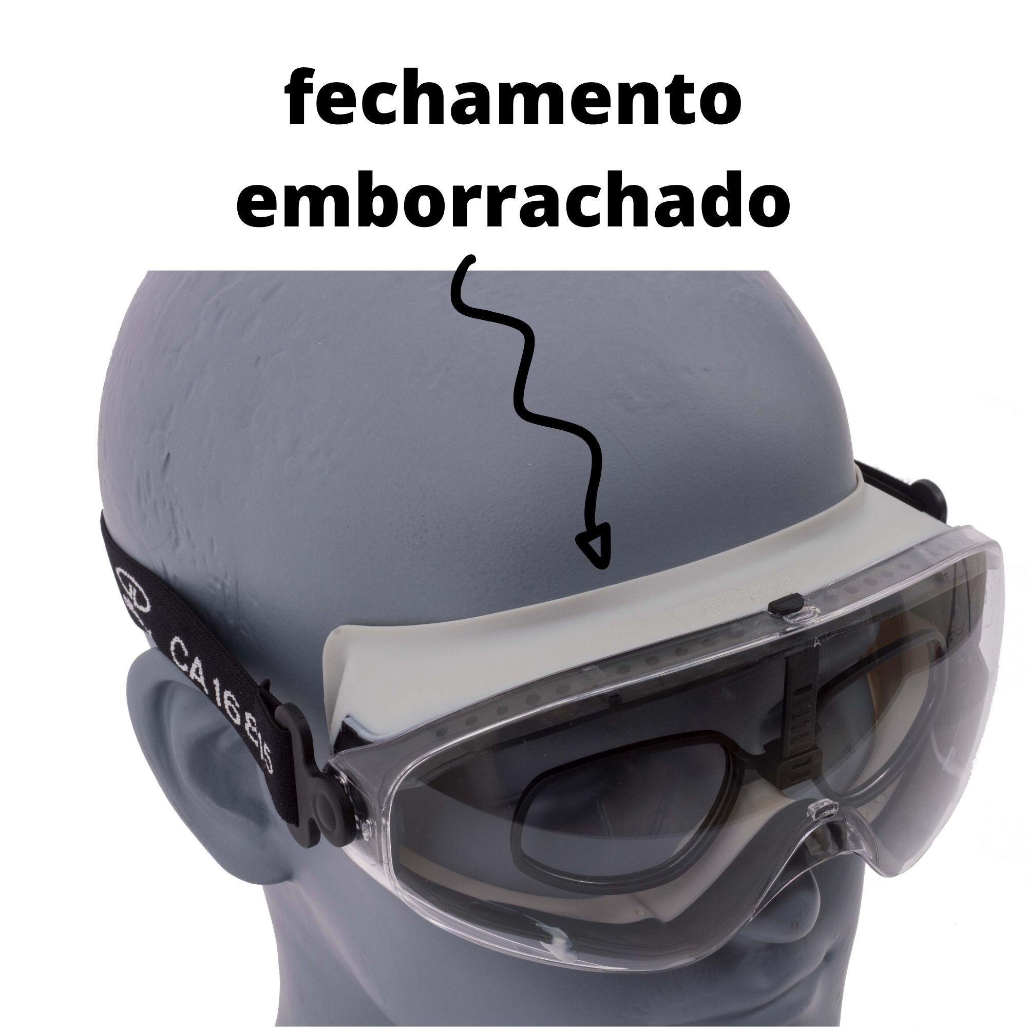 OCULOS DE SEGURANCA ATLANTIS INCOLOR  - DE PAULA EPI