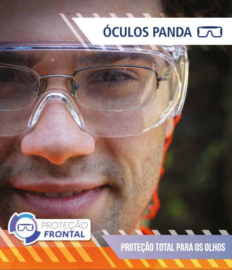 OCULOS SOBREPOR AO ÓCULOS DE GRAU - PANDA KALIPSO - CA10344  - DE PAULA EPI