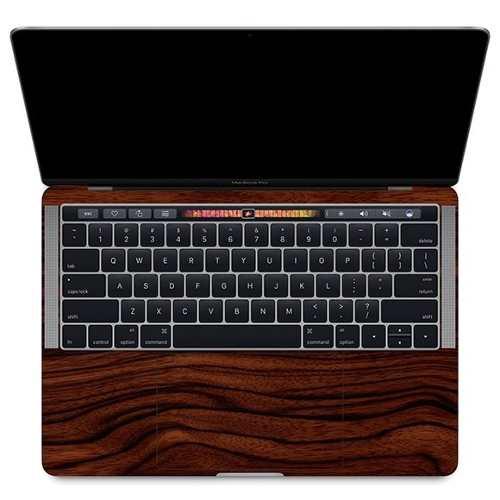 Adesivo Estampa Madeira MacBook Pro 15 Touch Bar Atual 2016-2019