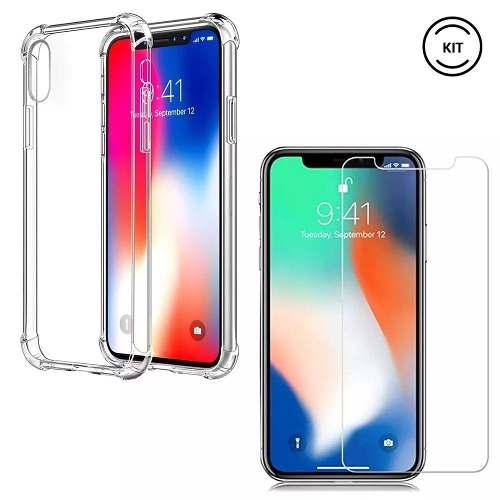 Capa Anti Impacto Transparente Iphone XS Max
