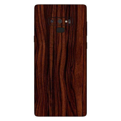 Adesivo Estampa De Madeira Escura Samsung Galaxy Note 9