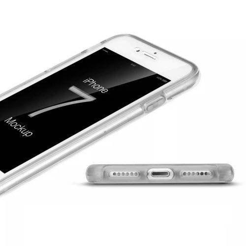 Capa Iphone 7 Plus Silicone 360 Frente E Verso (transparente