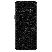 Adesivo Skin Premium - Estampa Couro Samsung Galaxy S9