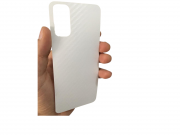 Adesivo Fibra Carbono 3D Transparente para Samsung Galaxy S20