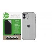 Skin Premium Verso e Laterais Estampa Aço Escovado para iPhone 12 Mini