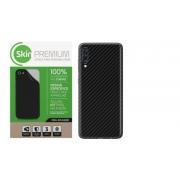 Adesivo Skin Premium Fibra Carbono Verso e Laterais para Galaxy A50