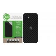 Skin Premium Verso e Laterais Fibra de Carbono para Iphone 12