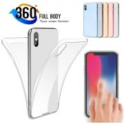Capa Transparente Silicone 360 Iphone