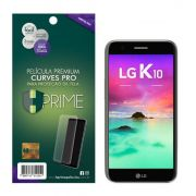 Película Premium HPrime LG K10 2017 - Curves PRO (Se Adere Na Parte Curva Da Tela)
