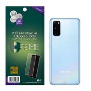 Película Premium HPrime Samsung Galaxy S20 - VERSO - Curves PRO (Se Adere Na Parte Curva Da Tela)