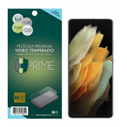 Película Vidro Temperado Premium para Samsung Galaxy S21 Ultra