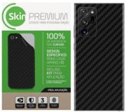 Skin Premium Adesivo Fibra Carbono Samsung Verso e Laterais Note 20 Ultra