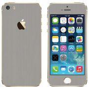 Skin Premium - Estampa Aço Escovado Iphone 5/5s/Se