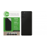 Skin Premium Estampa Fibra de Carbono para Samsung Galaxy S20 Plus