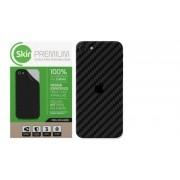 Skin Premium Verso e Laterais Fibra de Carbono para iPhone SE 2020