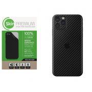 Skin Premium Fibra de Carbono Verso e Laterais para Iphone 11 Pro Max