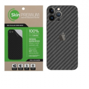 Skin Premium Fibra Carbono Para iPhone 13 Pro Max