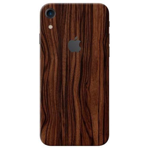 Adesivo Premium - Estampa Madeira Apple Iphone Xr