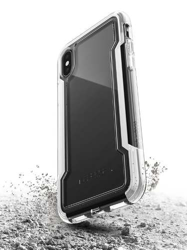 Capa Defense Clear Para Iphone X Branca X-doria