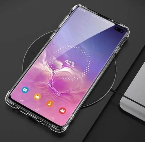 Capa Transparente Silicone Antichoque Samsung Galaxy S10