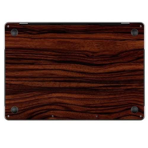 Capa Adesivo Madeira Escura Macbook Pro 13 Touch Bar