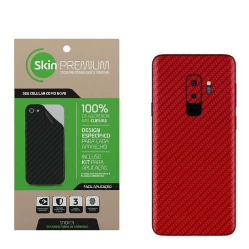 Skin Premium - Fibra De Carbono Samsung Galaxy S9 Plus
