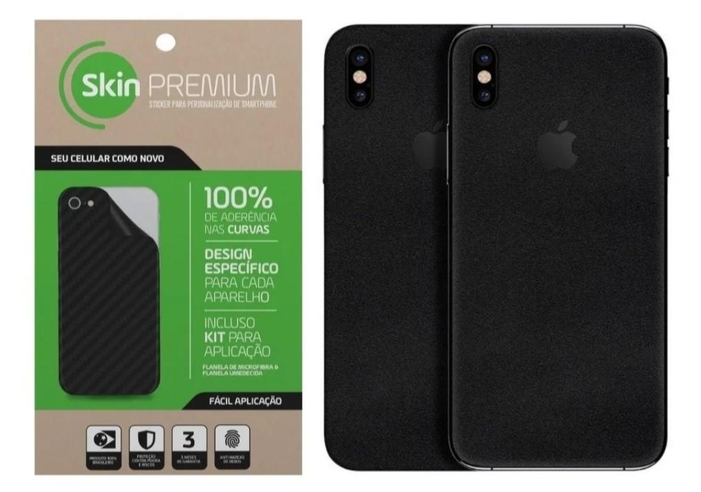Adesivo Premium - Jateado Fosco Apple Iphone X/XS