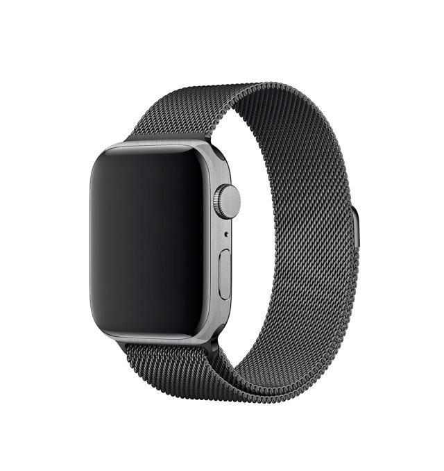 Adesivo Skin Estampa Aço Escovado Apple Watch Serie 4 44mm/40mm