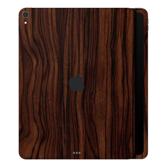 Adesivo Skin Premium Estampa Madeira iPad Pro 12.9 3º Geração  (2018)