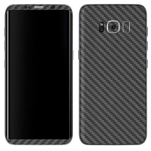 Adesivo Skin Premium - Fibra Carbono Samsung Galaxy S8