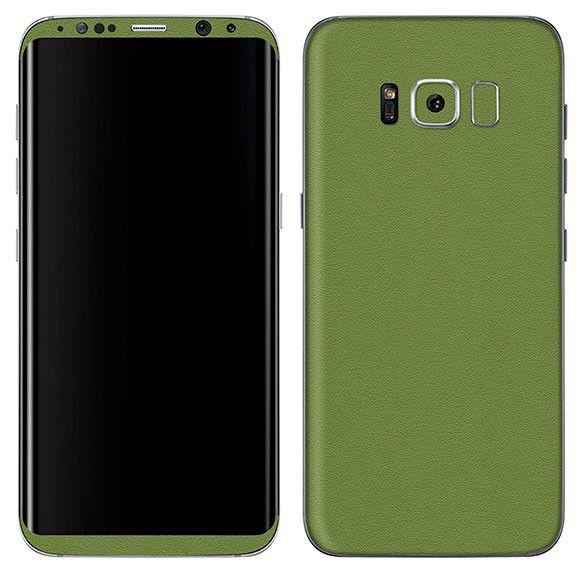 Adesivo Skin Premium - Jateado Carbono Samsung Galaxy S8