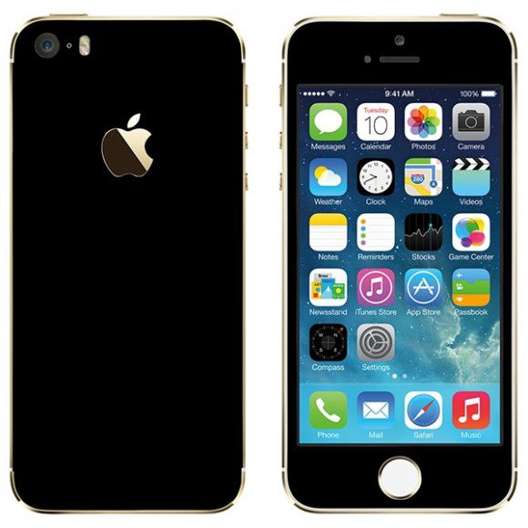 Adesivo Skin Premium - Jateado Iphone 5/5s/se
