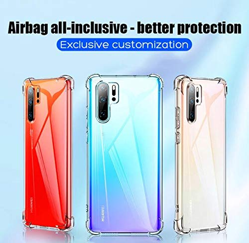 Capa Anti choque Transparente Silicone Maleável Huawei P30 Pro