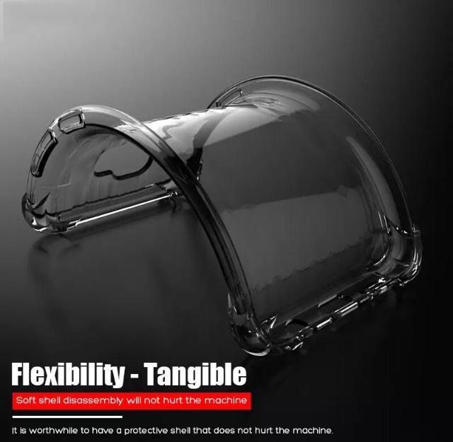 Capa Silicone Flexível Transparente Para Samsung Galaxy A70