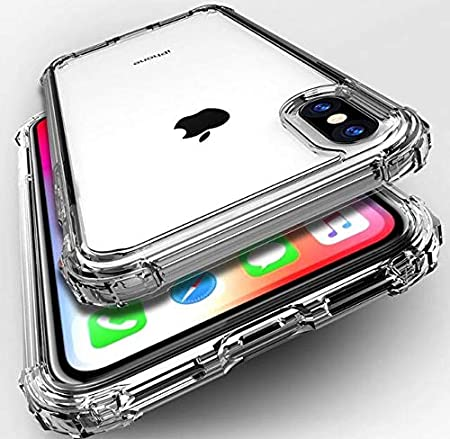 Capa Silicone Maleável Transparente Anti Choque iPhone XR