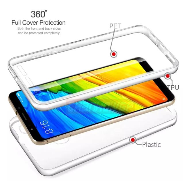 Capa Silicone Transparente 360 Samsung Galaxy S10